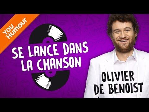 OLIVIER DE BENOIST - Se lance dans la chanson