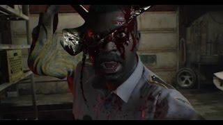 RESIDENT EVIL 7 biohazard - Jack Baker Boss Garage Fight on Madhouse Difficulty, 1080p