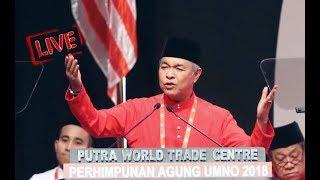 Ucapan dasar Presiden UMNO Datuk Seri Dr Ahmad Zahid Hamidi