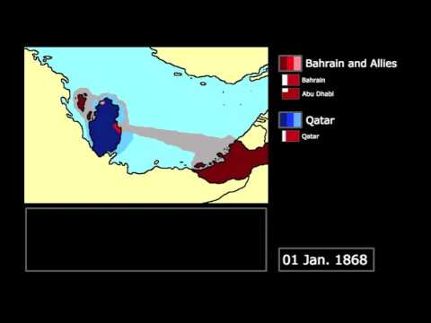 [Wars] The Qatari-Bahraini War (1867-1868): Every Month
