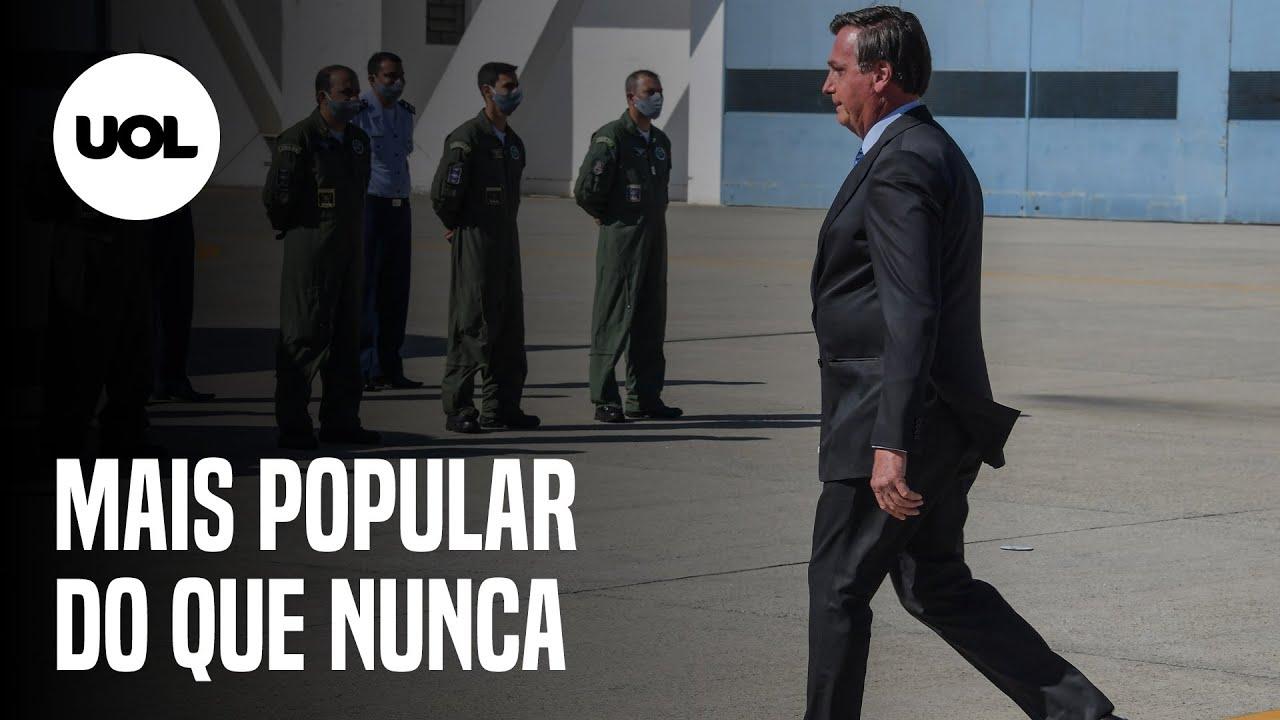 Com popularidade em alta, Bolsonaro inaugura escola cívico-militar no Rio