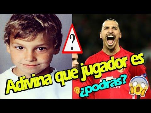 RETO: ADIVINA que FUTBOLISTAS son, cuando eran NIÑOS | IMPOSIBLE!!!