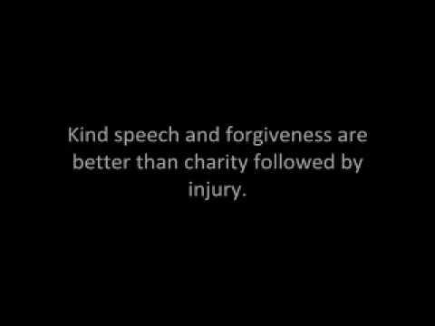 The Qur'an (Chapter 2, Verses 258-274) Sura Al-Baqarah