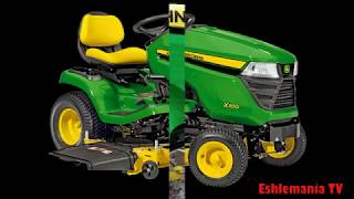 John Deere X300 & X500 Sereis Tractors: Slow In Forward Or Reverse