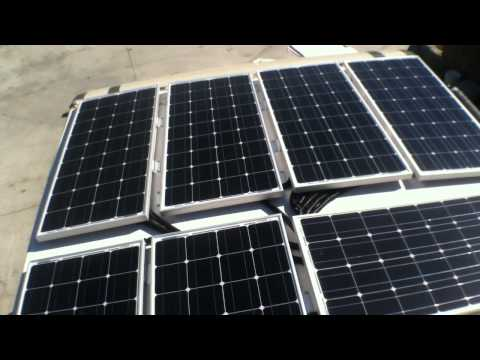 Off grid camper solar system install by OFF GRID CONTRACTING from start to finish