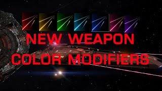 Elite Dangerous: New Weapon Color Modifiers!