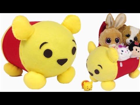 DIY Tsum Tsum Winnie the Pooh STORAGE BOX & DIY Tsum Tsum Winnie the Pooh STORAGE BOX - YouTube