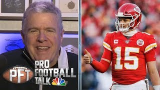 What King learned from Patrick Mahomes about Super Bowl | Pro Football Talk | NBC Sports