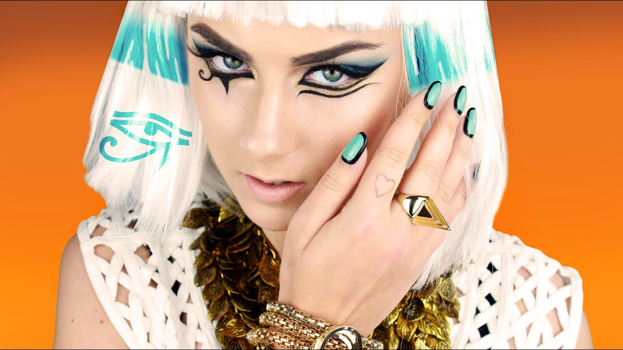 Katy Perry - Dark Horse Inspired Makeup Tutorial - YouTube