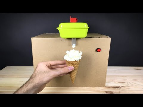 How to Make a Ice Cream Machine