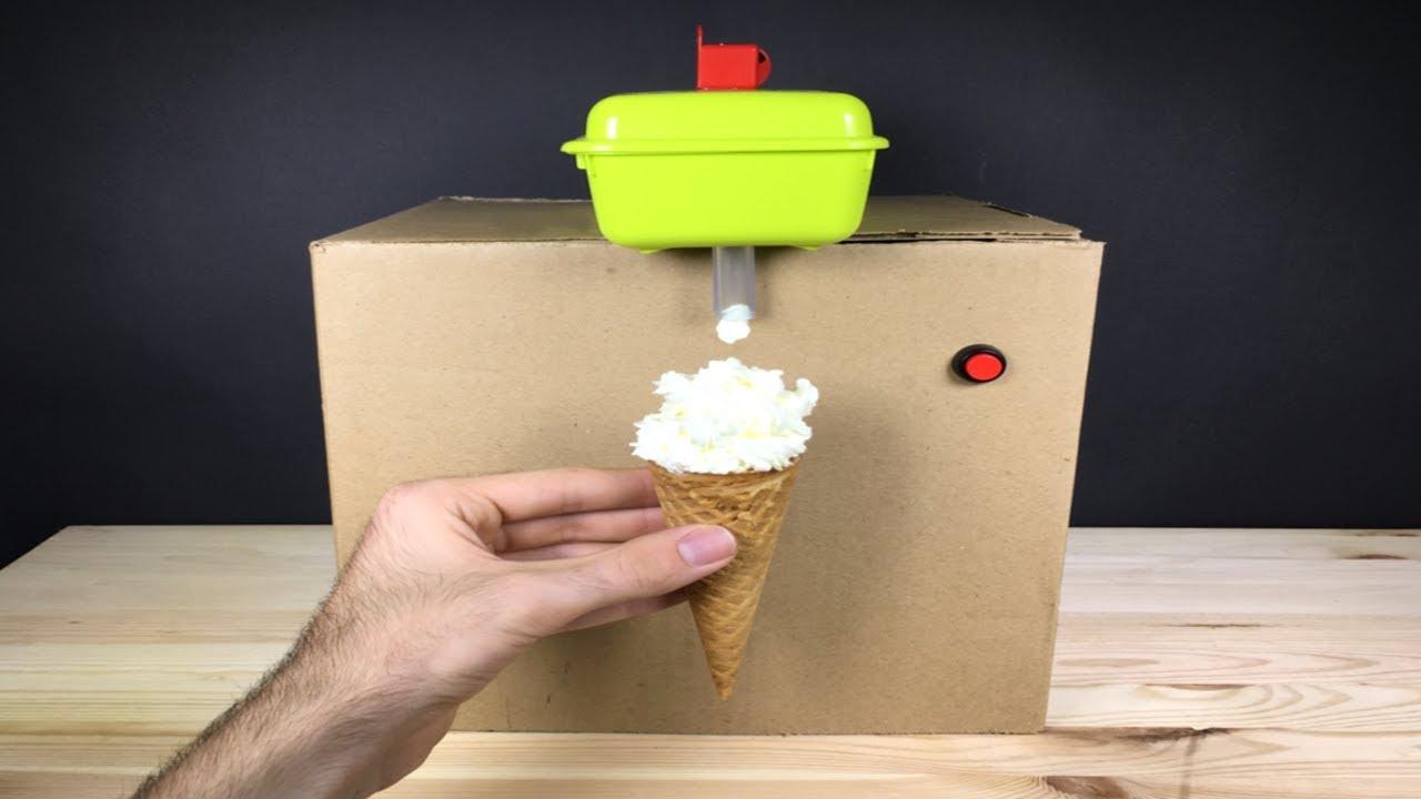 How to make a ice cream machine youtube how to make a ice cream machine ccuart Image collections