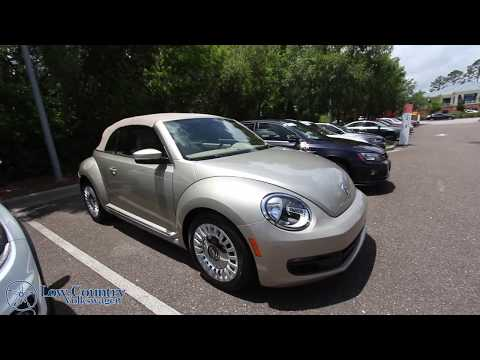 2015 Volkswagen Beetle Convertible w/1.8L Turbo | For Sale Review