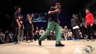 FOUND NATION vs GANGSTA FLOW (HIP OPSESSION 9) WWW.BBOYWORLD.COM
