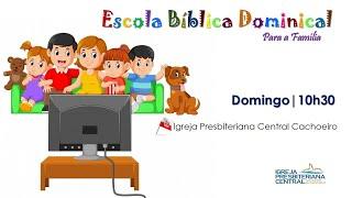 """EBD Infantil: """"A amizade de Davi e Jonatas!"""" - 18 de abril de 2021"""