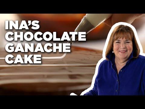 How to Make Ina's Chocolate Ganache Cake   Food Network