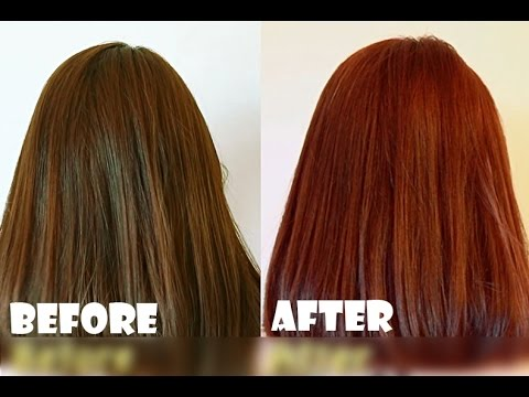 How To Dye Asian Or Dark Hair Brown Reddish 5 Garnier