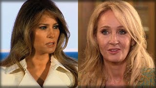 AFTER JK ROWLING SAID TRUMP ATTACKED DISABLED BOY, SHE GOT A NASTY SURPRISE FROM MELANIA Free HD Video