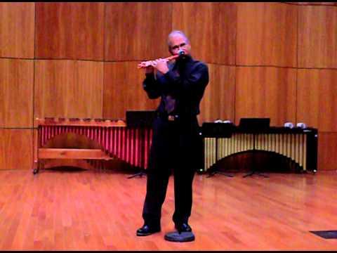 Flute by Aurelius John Lathy ki chadar
