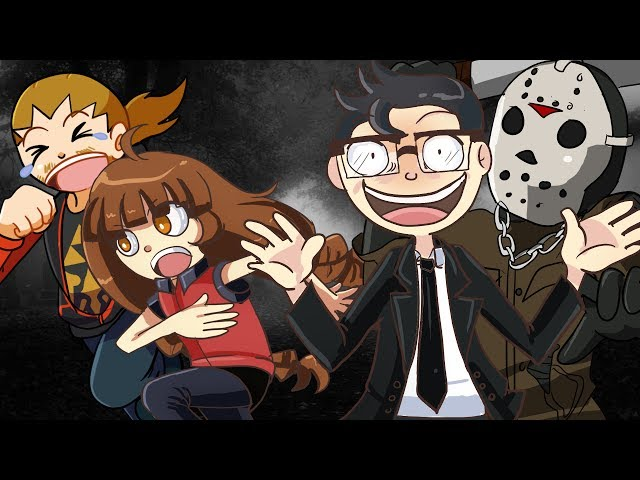 Friday the 13th w/ Friends | Let's Survive?! | Find the WOKIE! #13