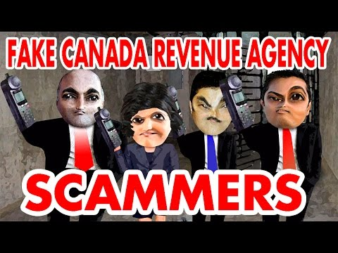 Bombarding Fake Canada Revenue Agency Scammers – The Hoax Hotel