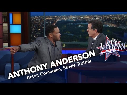 Anthony Anderson: Stevie Wonder Can See!