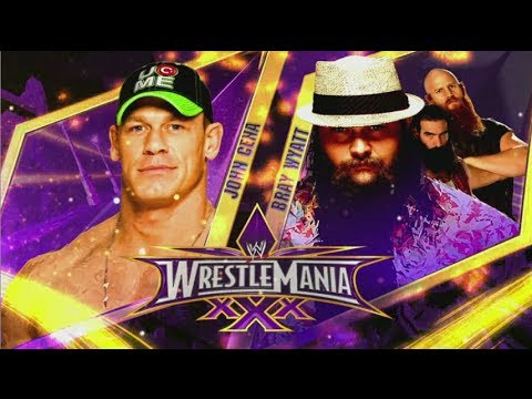 WrestleMania 30 - John Cena vs Bray Wyatt...
