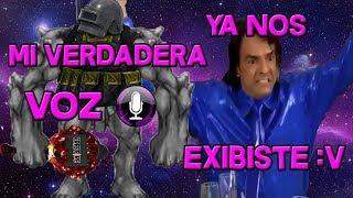 LA VERDADERA VOZ DE GOLEMCITO GAMES !!PREGUNTAS Y RESPUESTAS!! FREE FIRE !!OMG!!INCREIBLE!!!