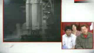 Chavez celebrates China-launched Venezuelan satellite