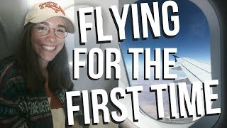 FLYING FOR THE FIRST TIME EVER   HAWAII VLOG
