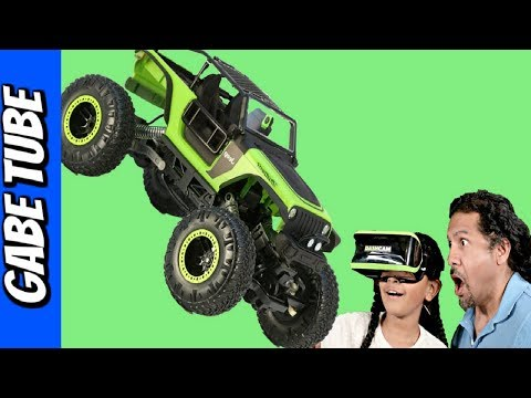 Top Toys For CHRISTMAS 2017 NEW BRIGHT DASH CAM JEEP TRAILCAT UNBOXING & REVIEW Gabe Tube TV