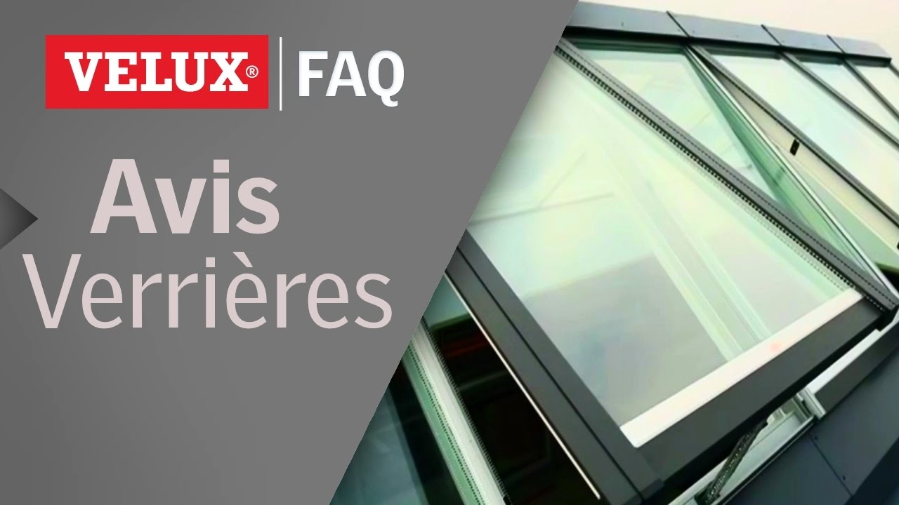 avis sur les verri res modulaires velux youtube. Black Bedroom Furniture Sets. Home Design Ideas