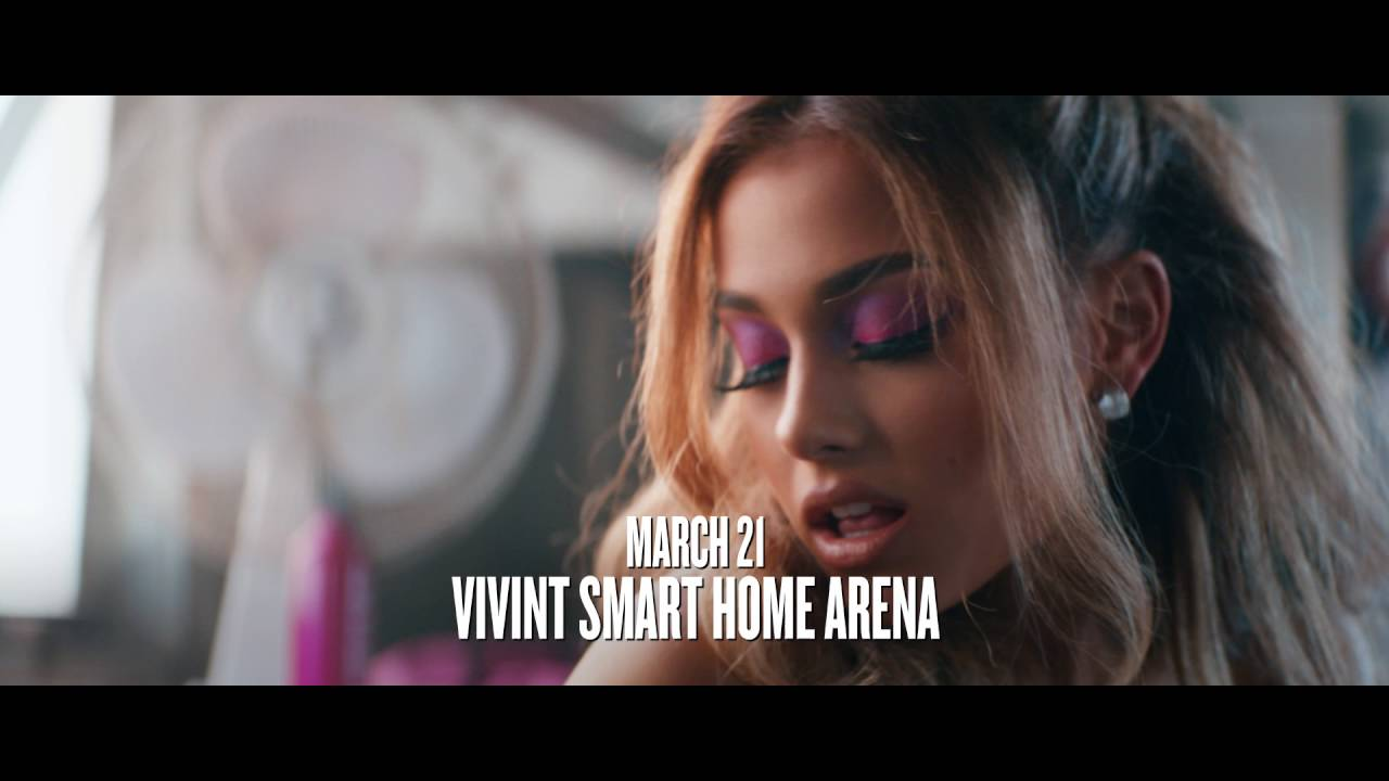 Ariana Grande Dangerous Woman Tour at Vivint Smart Home Arena March 21, 2017