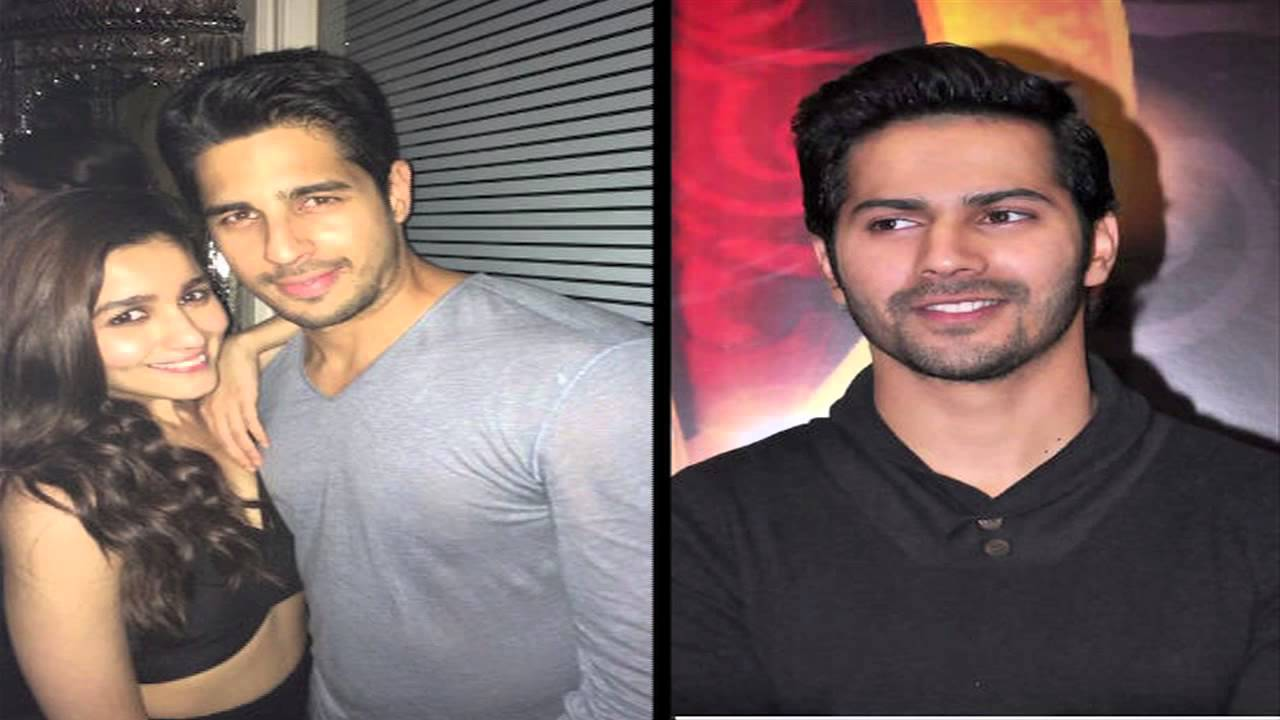 Varun Dhawan Comments On Alia Bhatt And Siddharth Malhotra ...