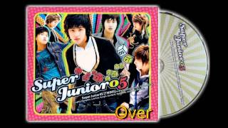 Super Junior  - Over  (Audio)