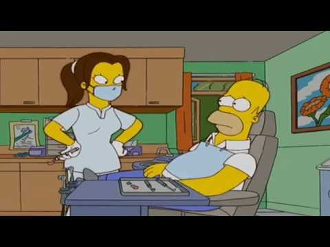 The Simpsons Go To The Dentist