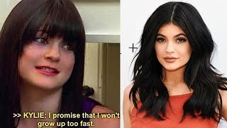 Kylie Jenner Jokes That She Grew Up Too Fast
