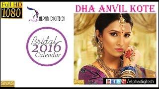Cover images Alpha Digitech Bridal Calendar Photo Shoot 2016 May   Dhaanvi Kote