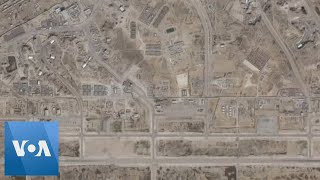 Satellite Images Show Aftermath of Iran Missile Attack