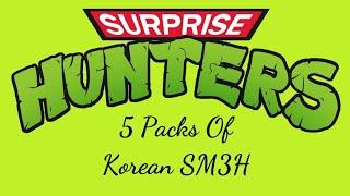 Pokemon TCG Opening Korean SM3H Burning Shadows 5 Pack Opening