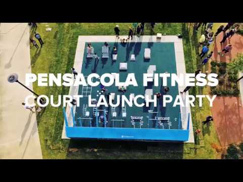 Pensacola Leap Into Fitness Court at Maritime Park