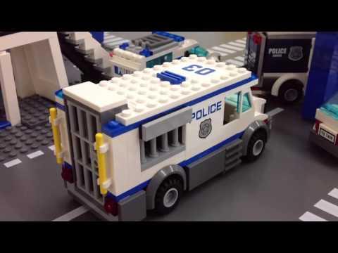 LEGO Jailbreak 1 | Prison Break Police Polizei Politi Polis Polizeistation 乐高レゴ 警察 레고 경찰
