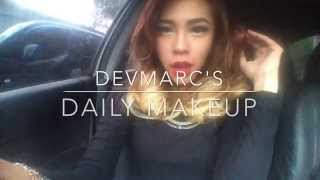#devmarc Daily Make Up Routine (Fast Forward Version)