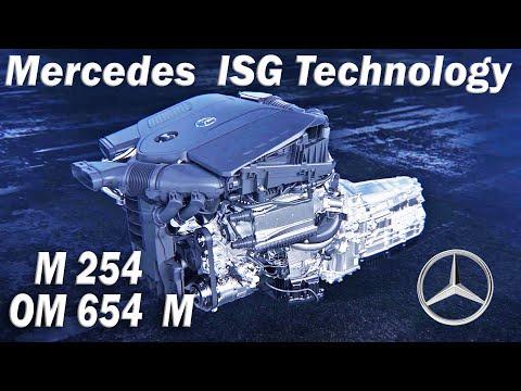 Mercedes M 254 gasoline engine & OM 654 M diesel engine with 48-volt technology and ISG/mild hybrid/