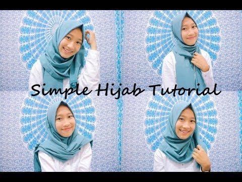 Tutorial Hijab Pashmina Velvet Untuk Wajah Bulat Bisabo Channel
