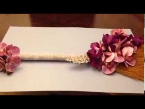 How To Decorate A Broom For Your Wedding Youtube