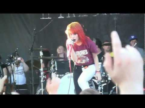 "Paramore at Warped Tour- ""Ignorance""*Hayley Breaks Up Fight* (HD) Live 7-16-2011"