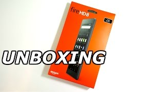 Amazon Fire HD 8 (2016) Unboxing!