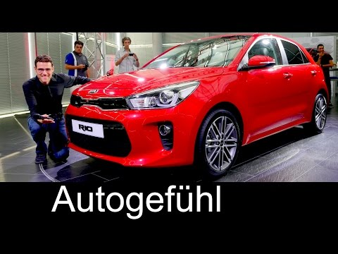 All-new Kia Rio World Premiere Exterior Interior REVIEW neu 2017/2018 – Autogefühl