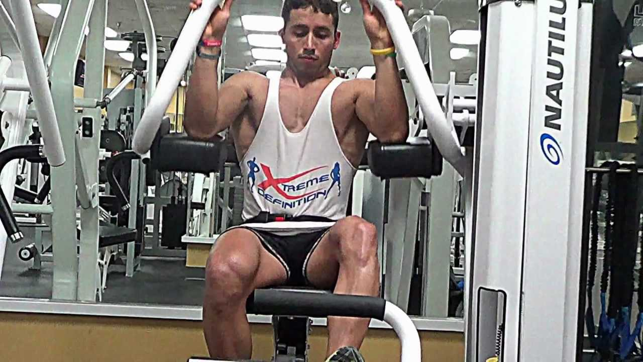 Lat Pullover Machine: Oldie but a Goldie - YouTube