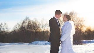 Дмитрий и Анастасия зимнее свадебное видео Гомель